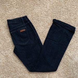 Joe's Jeans Dark Wash Curvey Bootcut